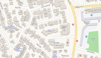 peak-residence-location-map-thomson-road-singapore